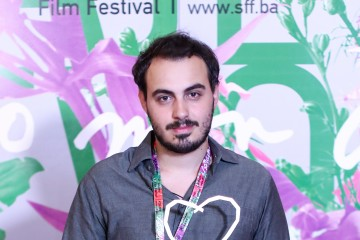 Young director Nikola Stojanovic from Serbia won a Heart of Sarajevo for The Best Student Film for the short movie