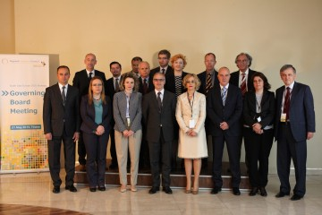 Participants of the second South East Europe 2020 Strategy (SEE 2020) Governing Board meeting, held on 21 May in Tirana, Albania. (Photo: RCC)