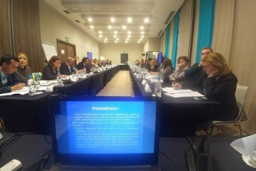 Joint Workshop on Research Infrastructures and Contract Research co-organised by the RCC and the Directorate-General Joint Research Centre (DG JRC) of the European Commission, in Sarajevo, 30 October 2018 (Photo: RCC/Vanja Ivosevic)