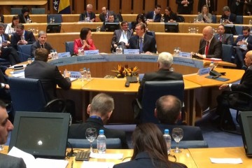 Western Balkans Six Prime Ministers Summit with the European Commission and the European External Action Service in Sarajevo, 16 March, 2017 (Photo: @JHahnEU)