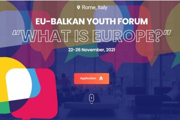 The Italian Ministry of Foreign Affairs and International Cooperation, in partnership with the Regional Cooperation Council (RCC) to host the EU-Balkan Youth Forum on 22-26 November 2021 in Rome