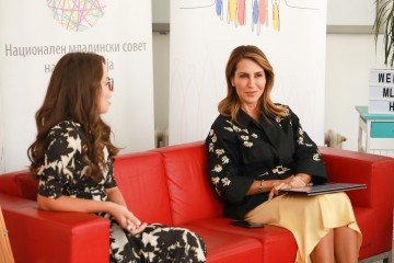RCC Secretary General Majlinda Bregu met with youth representatives from North Macedonia Youth Council