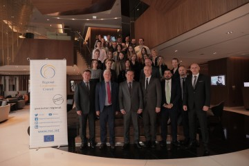 Participants of the regional workshop  'New Age Journalism for New Age Security Challenges' (Photo: RCC/Ognen Acevski)