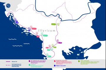 Roman Emperors and Danube Wine Route's Illyricum Trail will run through Western Balkans and introduce visitors to some of the most amazing archaeological sites.  (Photo: Danube Competence Center)