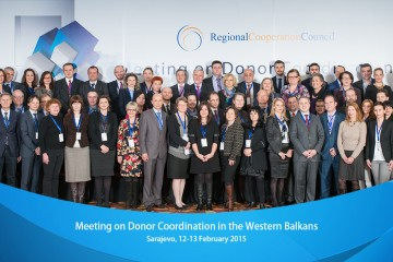 RCC hosted Meeting on Donor Corrdination in the Western Balkan, on 12-13 February 2015, in Sarajevo, BiH. (Photo RCC/Amer Kapetanovic)