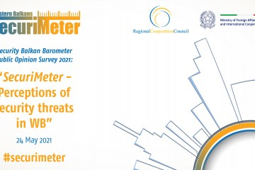 RCC to present Western Balkans SecuriMeter - the first-ever regional Public Opinion Survey on Security