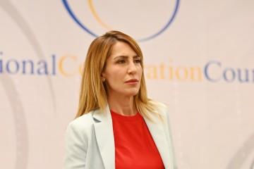 RCC Secretary General Majlinda Bregu at the Berlin Summit