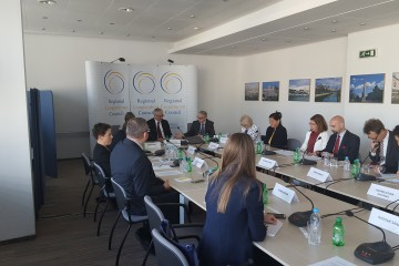 RCC hosted the first part of a two-day meeting of the Steering Group of Priority Area 10 (PA10) of the EU Strategy for the Danube Region (EUSDR), on 14 April 2016 in Sarajevo, BiH. (Photo: RCC/Selma Ahatovic-Lihic)