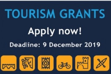 3rd call for proposals for tourism development grants published