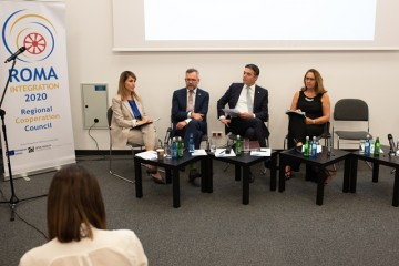 Regional Cooperation Council (RCC) and its Roma Integration 2020 Project hosted panel discussion: Western Balkans partners' declaration on Roma and EU enlargement: From words to acts, Western Balkans Summit in Poznan, 4 July 2019 (Photo: RCC/Erik Witsoe)