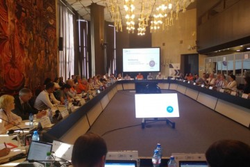 RCC's ESAP and Western Balkans' Public Employment Services present their joint work at Annual Meeting of the EU PES Network in Sofia, 8 June 2018 (Photo: RCC/Vanja Ivosevic)