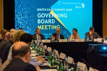 RCC's SEE2020 Strategy Governing Board meeting in Dubrovnik, 28 June 2017 (Photo: RCC/Srdjan Kurajica & Klaudio Pozniak)