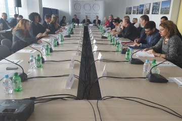 Meeting of the RCC Board, held in Sarajevo on 11 May 2016. (Photo: RCC/Selma Ahatovic-Lihic)