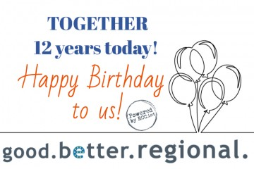 RCC is turning 12 today! GOOD cooperation! BETTER life! REGIONAL success!