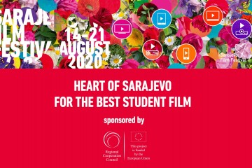 Regional Cooperation Council (RCC) is the patron of the 'Heart of Sarajevo' award for the Best Student Film at the 26th Sarajevo Film Festival (SFF) (Illustration: Courtesy  of SFF)