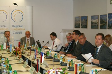 Meeting of the RCC Board, held in Sarajevo, BiH, on 15 September 2011. (Photo RCC/Selma Ahatovic-Lihic)