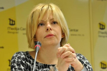 Ms. Hedvig Morvai, Executive Director of the European Fund for the Balkans, this year's Champion of regional cooperation (Photo: www.mc.rs )