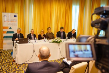 Participants of the conference 'Enhancing Growth through Regional Action – South East Europe 2020', organised by CEI and the RCC Secretariat, on 18 March 2014, in Sarajevo, BiH (Photo: CEI)