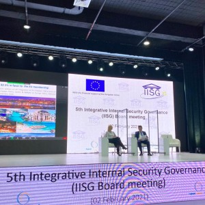 5th meeting of the IISG Board was held for the first time under the RCC umbrella in Sarajevo on 2 February 2021 (Photo: RCC/Emina Basic)
