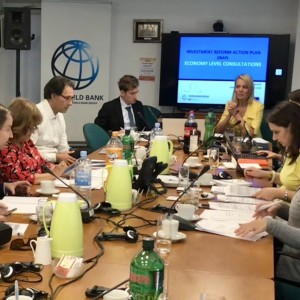 RCC held a series of national consultations with Western Balkans Six economies on the development of their individual-economy Investment Policy Reform Action Plans (IRAPs), thus beginning operationalisation of the Regional Investment Reform Agenda (RIRA) (Photo: RCC/@dragana_djurica)