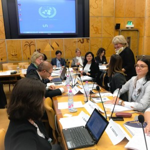SEE International Investment Agreements negotiators gathered for the first time ever, under the umbrella of the RCC, to talk about the main issues of existing network of IIAs in the region and draft the proposals for their modernization and upgrade, on 12 October 2017, in Geneva. (Photo: RCC)