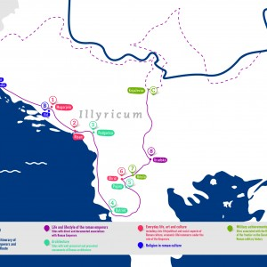 PROMO FLYER: Roman Emperors and Danube Wine Route's Illyricum Trail