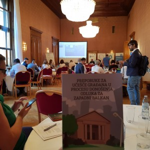 Regional Conference 'Unlocking Benefits of Public Participation in the Western Balkans', Vienna, 11 June 2018 (Photo: RCC/Selma Ahatovic-Lihic)