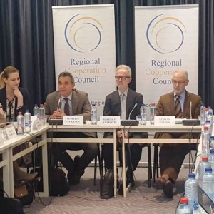 Western Balkans Working Group on Research and Development at the meeting in Brussels, 13 June 2018 (Photo: RCC/Nedima Hadziibrisevic)
