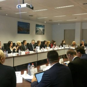 Regional  Working Group on Justice and Western Balkans' Judicial Training Institutions held a joint meeting in Brussels, 6-7 December 2017 (Photo: RCC/Nadja Greku)
