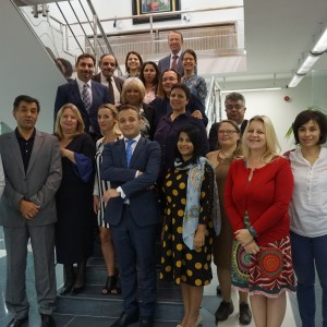 Participants of the  Task Force meeting of the RCC's RI2020 Action Team, held on 20-21 September 2017 in Belgrade. (Photo: RI2020/Rada Krstanovic)