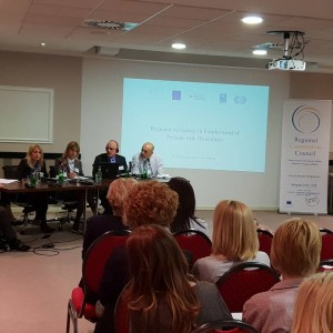 Regional Workshop on Employment of Persons with Disabilities (PWD) in the Western Balkans (WB), in Belgrade on 19-20 April 2018 (Photo: RCC/Sanda Topic)