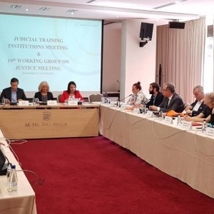 Western Balkan Judicial Training Institutions and Councils for Judiciary meet in Podgorica, 7 June 2018 (Photo: RCC/Elvira Ademovic)
