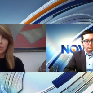 Majlinda Bregu, RCC SG's interview for N1 TV