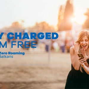 STAY CHARGED, ROAM FREE