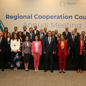 13th Annual Meeting of the Regional Cooperation Council took place on 16 June 2021 in Antalya, Turkey (Photo: RCC/Murat Yilmaz)