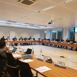Representatives of the ICT Ministries and Regulators from Western Balkans Six (WB6) economies agreed on the text and the next steps leading towards signing of the new Regional Roaming Agreement (RRA2), at the third negotiations organized by the Regional Cooperation Council (RCC) held in Brussels on 8 February 2019 (Photo: RCC/Ivana Petricevic)