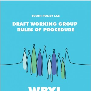 Youth Policy Lab Draft Working Group Rules of Procedure (Design: Samir Dedic)