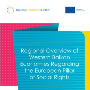 Regional Overview of Western Balkan Economies Regarding the European Pillar of Social Rights