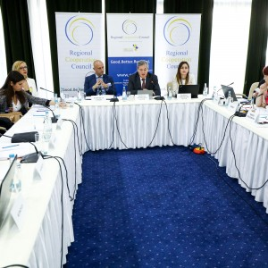 SEE 2020 Strategy's Governing Board meets in Sarajevo on 8 July 2019 (Photo: RCC/Armin Durgut)