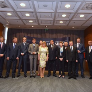 RCC Secretary General, Goran Svilanovic (second right) at the SEECP Summit of Heads of State and Government, held in Dubrovnik, Croatia, on 30 June 2017. (Photo: Office of the President of the Republic of Croatia)
