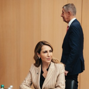 RCC Secretary General Majlinda Bregu at the EU-Western Balkans Brdo summit held in Slovenia on 6 October 2021 (Photo: RCC/Matej Colakovic)