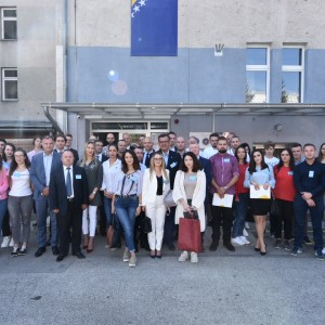 Students from various Bosnia and Herzegovina's universities gather at RCC-organised Workshop, to discuss the early signs of radicalisation in their local communities, in Sarajevo on 18 September 2018. (Photo: RCC/Haris Calkic)