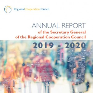 Annual Report of the Secretary general of the Regional Cooperation Council (RCC) 2019-2020 (Design: RCC/Sejla Dizdarevic)