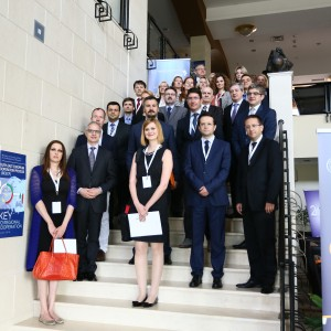 Participants of the third meeting of the Governing Board of the Regional Cooperation Council's (RCC) South East Europe 2020 (SEE 2020) Strategy that took place in Pravets (Bulgaria), on 30 May 2016. (Photo: Regional Cooperation Council/Ivo Petkov)