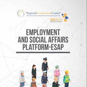 Employment and Social Affairs Platform (ESAP) Brochure Cover Page