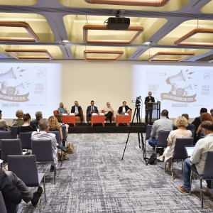 Regional Cooperation Council (RCC) presents findings of 2018 edition of the Balkan Barometer (BB) in Brussels on 6 July 2018 (Photo: RCC/Jerome Hubert)