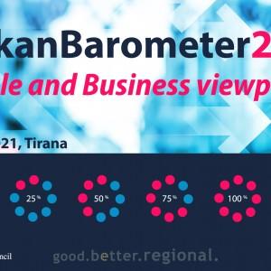Balkan Barometer 2021 to be presented in Tirana on 24 June 2021 (Design: RCC/Samir Dedic)