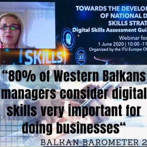 Balkan Barometer: 80% of Western Balkans managers consider digital skills very important for doing businesses