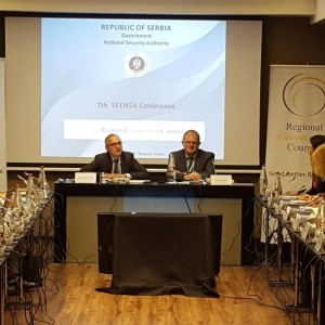 7th annual meeting of South East European National Security Authorities (SEENSA) forum held in Belgrade, Serbia on 5 October 2017 (Photo: RCC/Natasa Mitrovic)