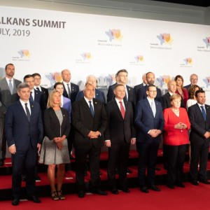 Participants of the Western Balkans Leaders' Summit in Poznan, Poland, 5 July 2019 (Photo: RCC/Erik Witsoe)